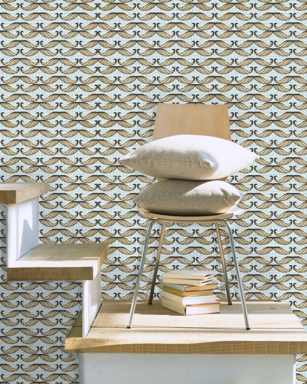 MOUSTACHE Premium Wallpaper