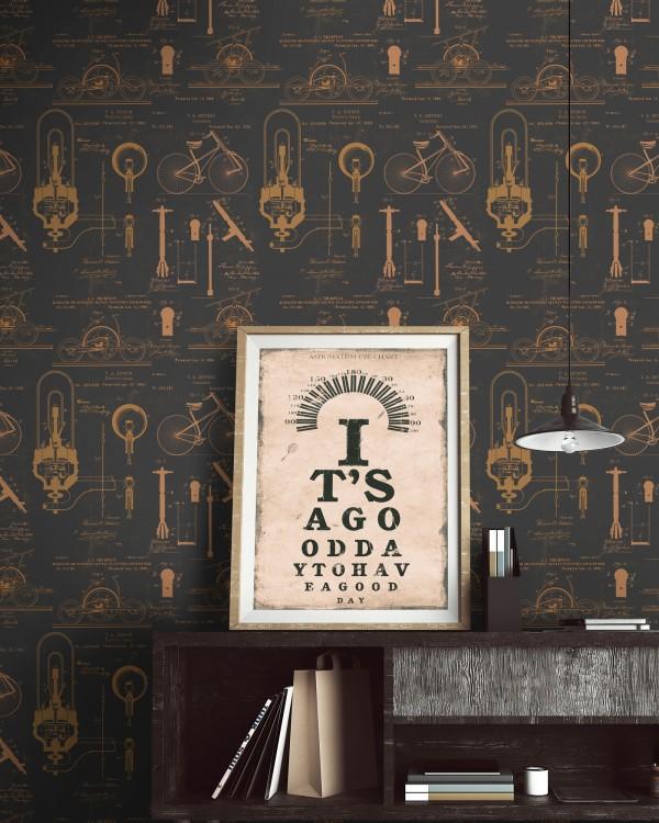 PATENTS Premium Wallpaper