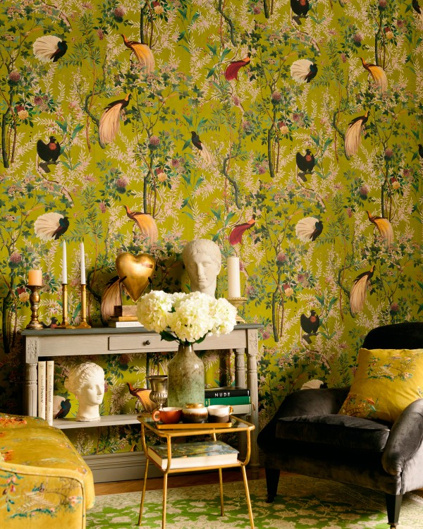 ROYAL GARDEN Green Wallpaper