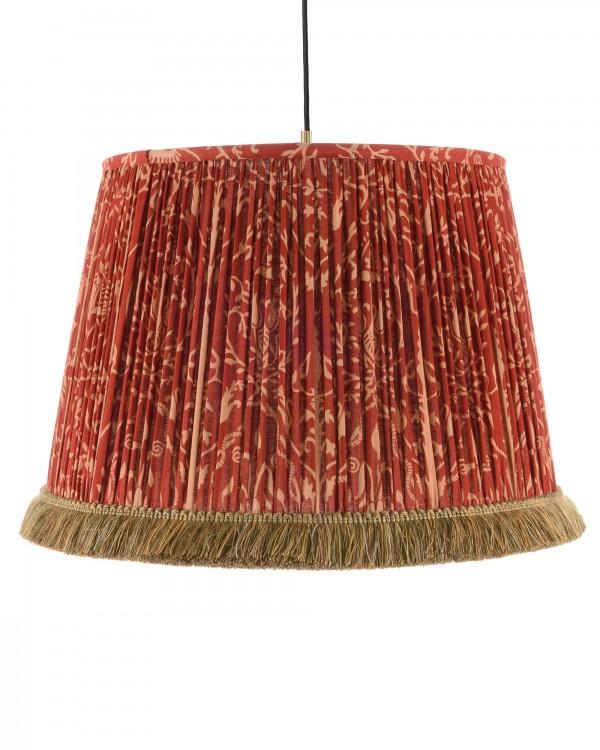 SAXON ORNAMENT Pleated Pendant Lamp