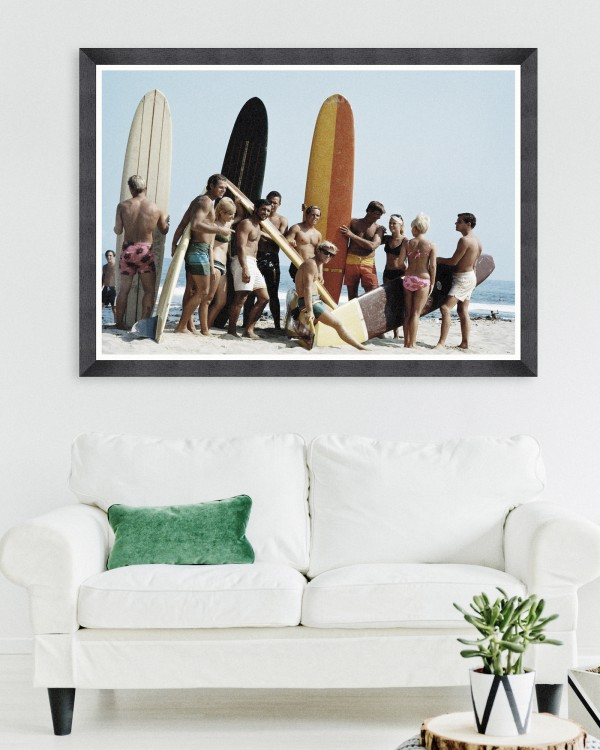 SURFERS BY KELLEY ARCHIVE Framed Art
