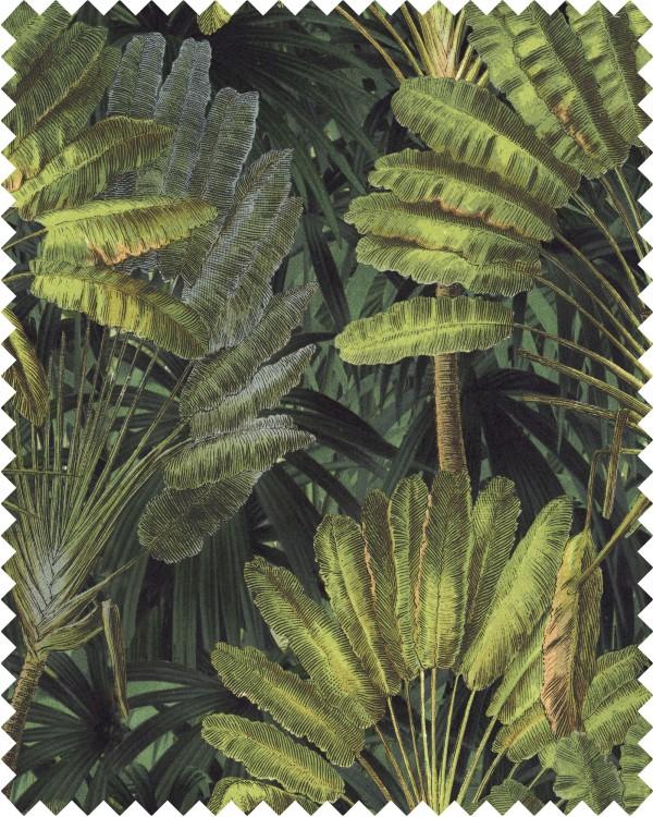 TRAVELLER'S PALM Linen Sample