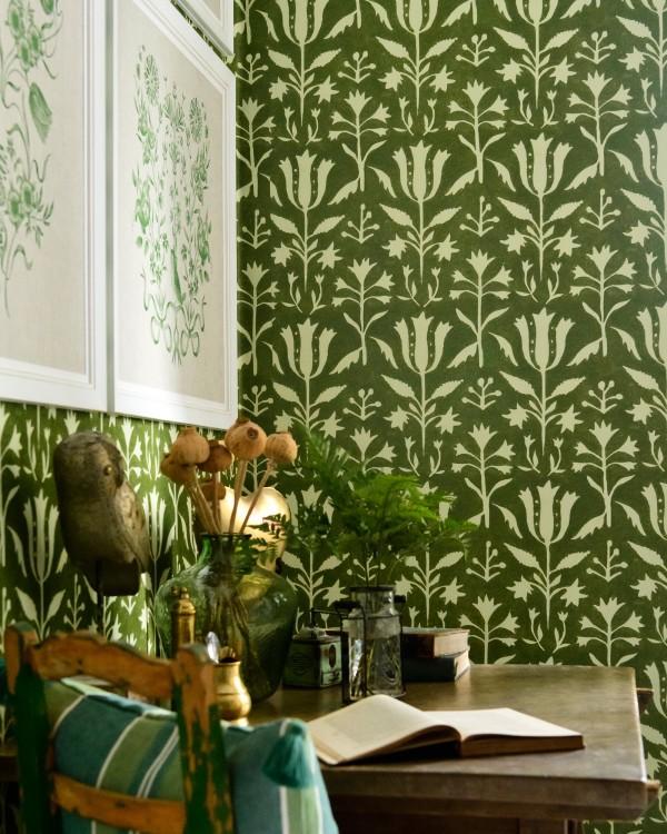TULIPAN Herbal Wallpaper