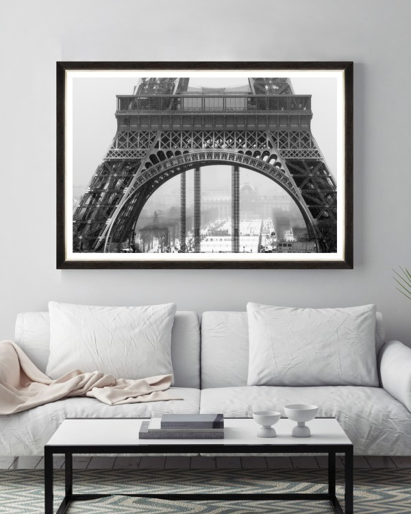 UNFINISHED EIFFEL Framed Art