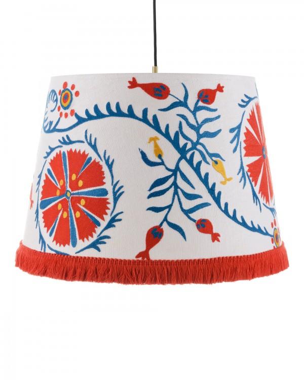 VIRAGOS Embroidered Pendant Lamp