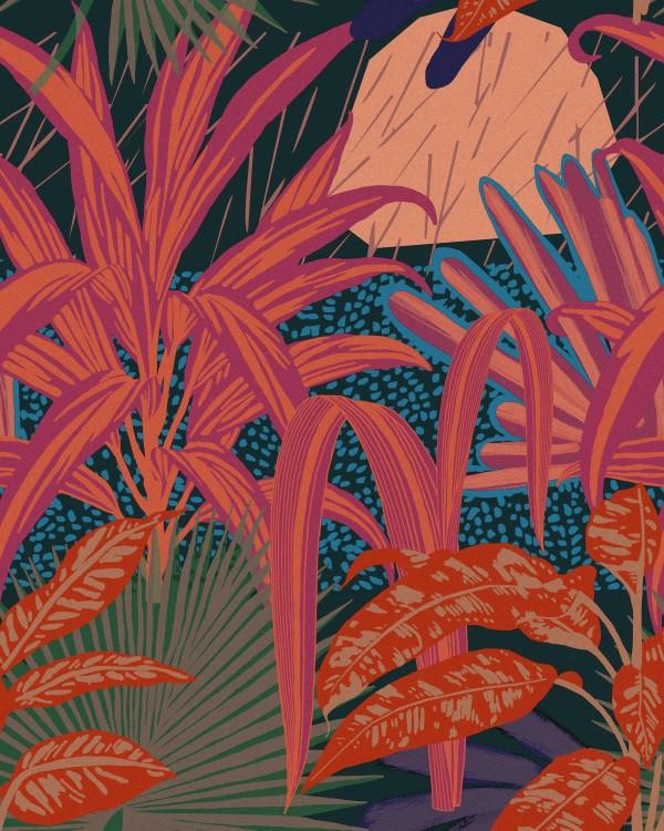 JARDIN IMAGINARIO Dark Wallpaper