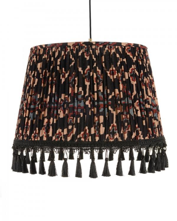 ZOLD Dark Pleated Pendant Lamp