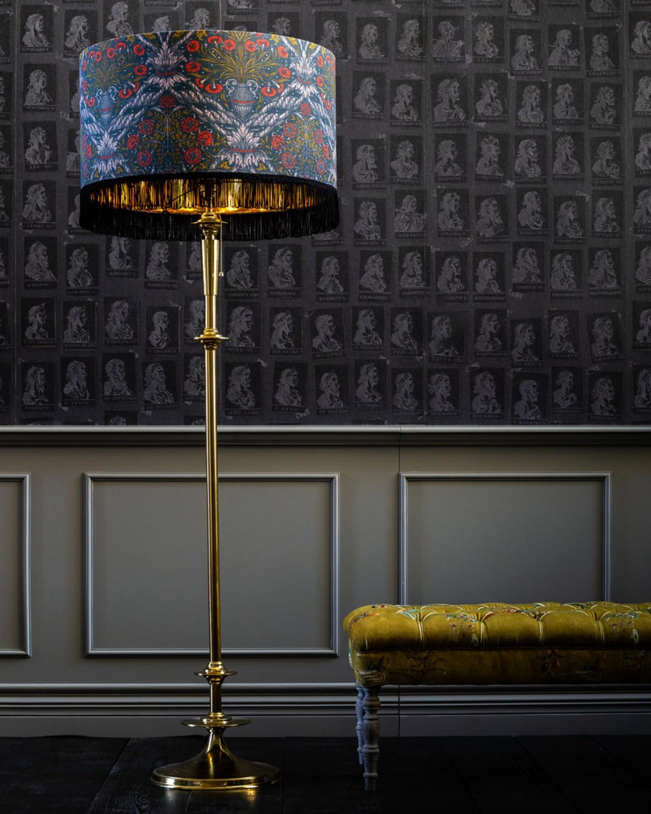 DECORATIVE PANEL REGENCY Floor Lamp
