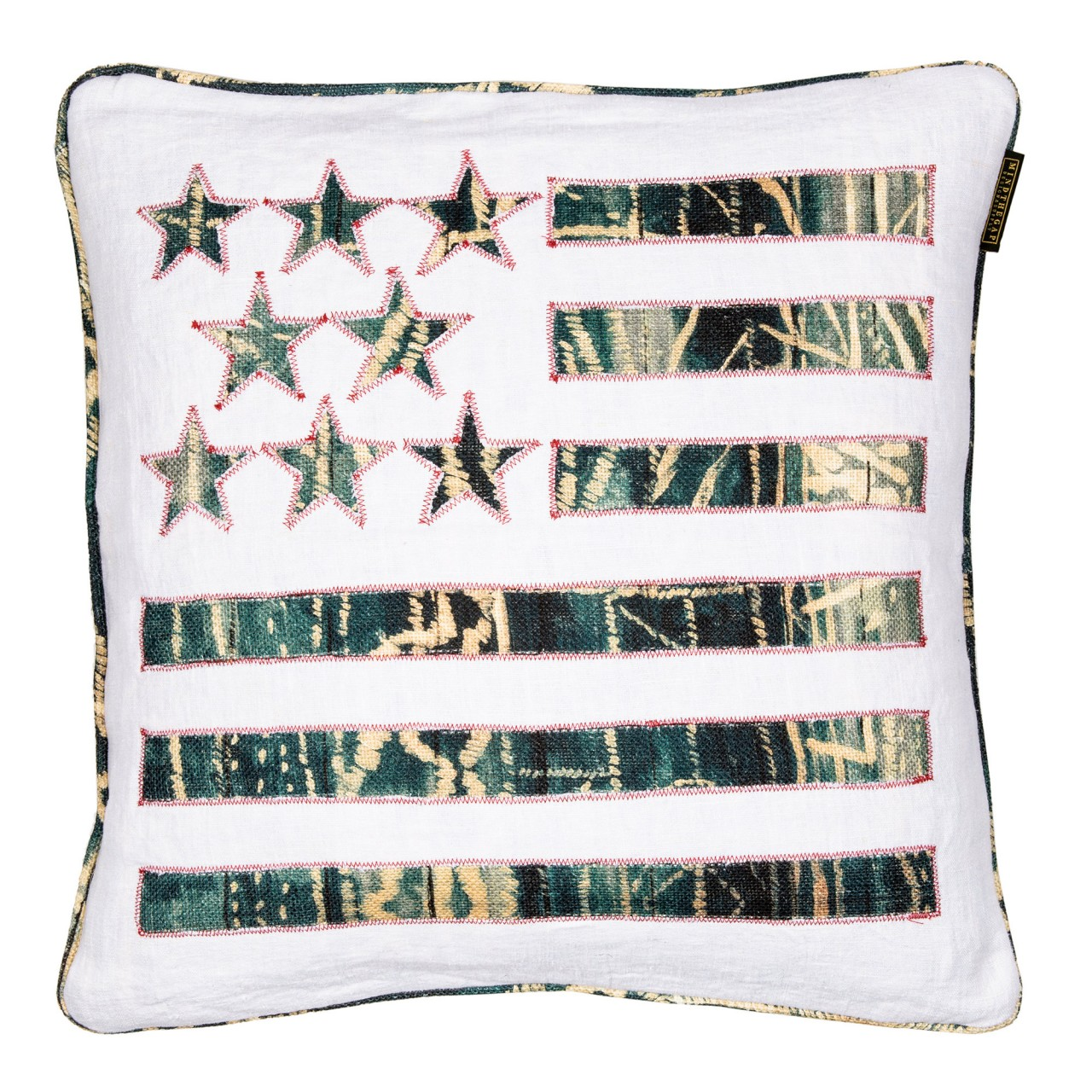 STARS AND STRIPES Linen Cushion