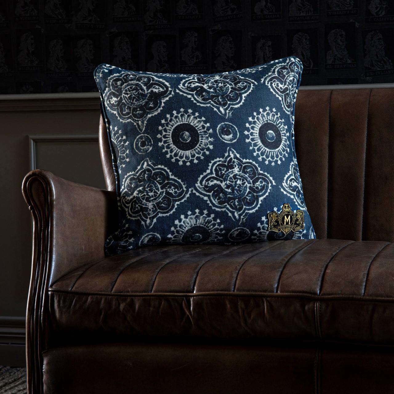 AJRAK Linen Cushion