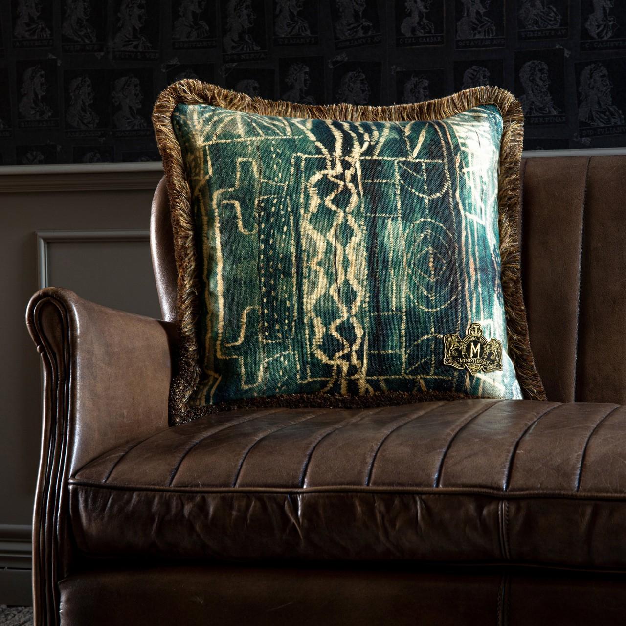 BAMILEKE Linen Cushion