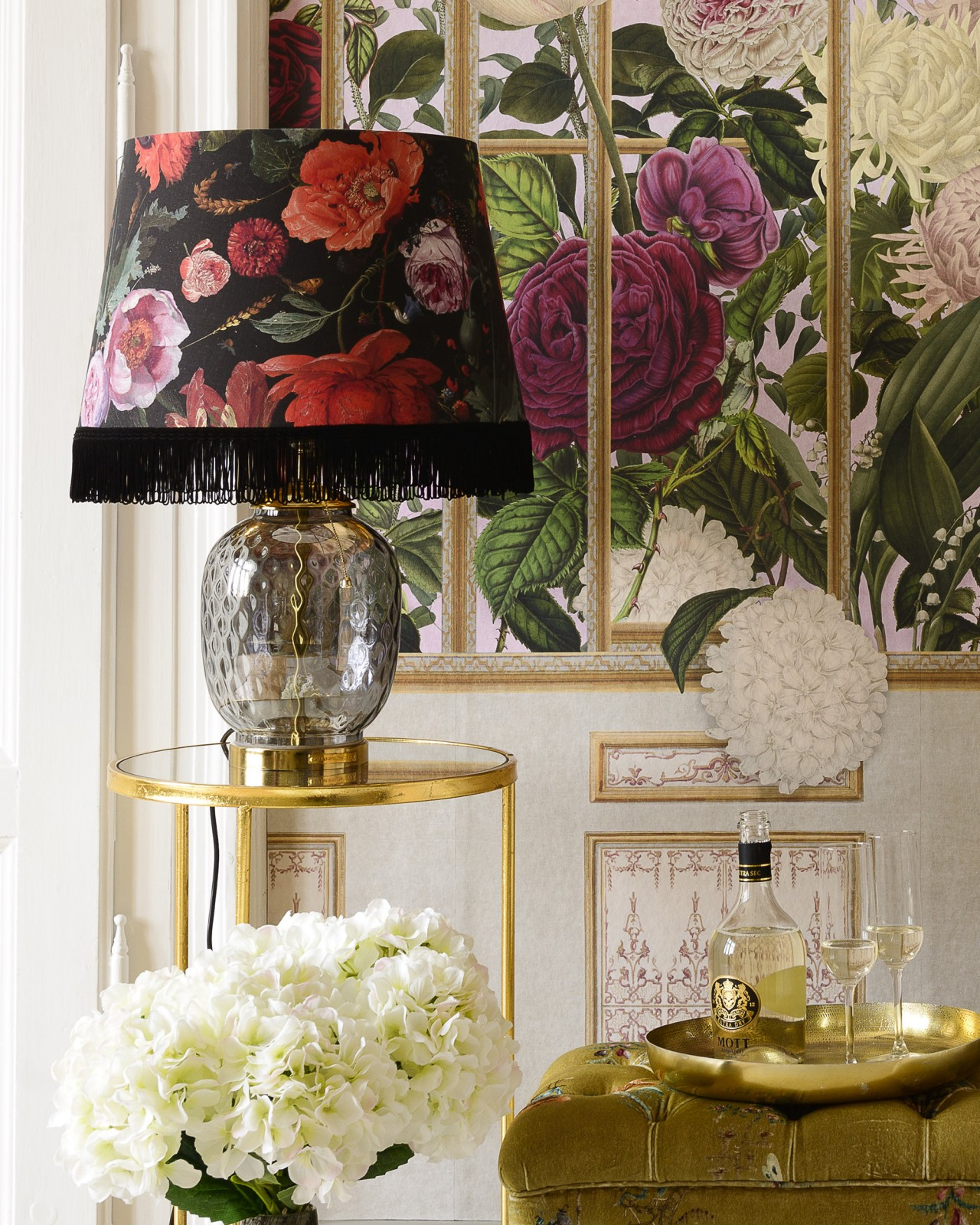 FLOWERS OF THE LADY Lampshade