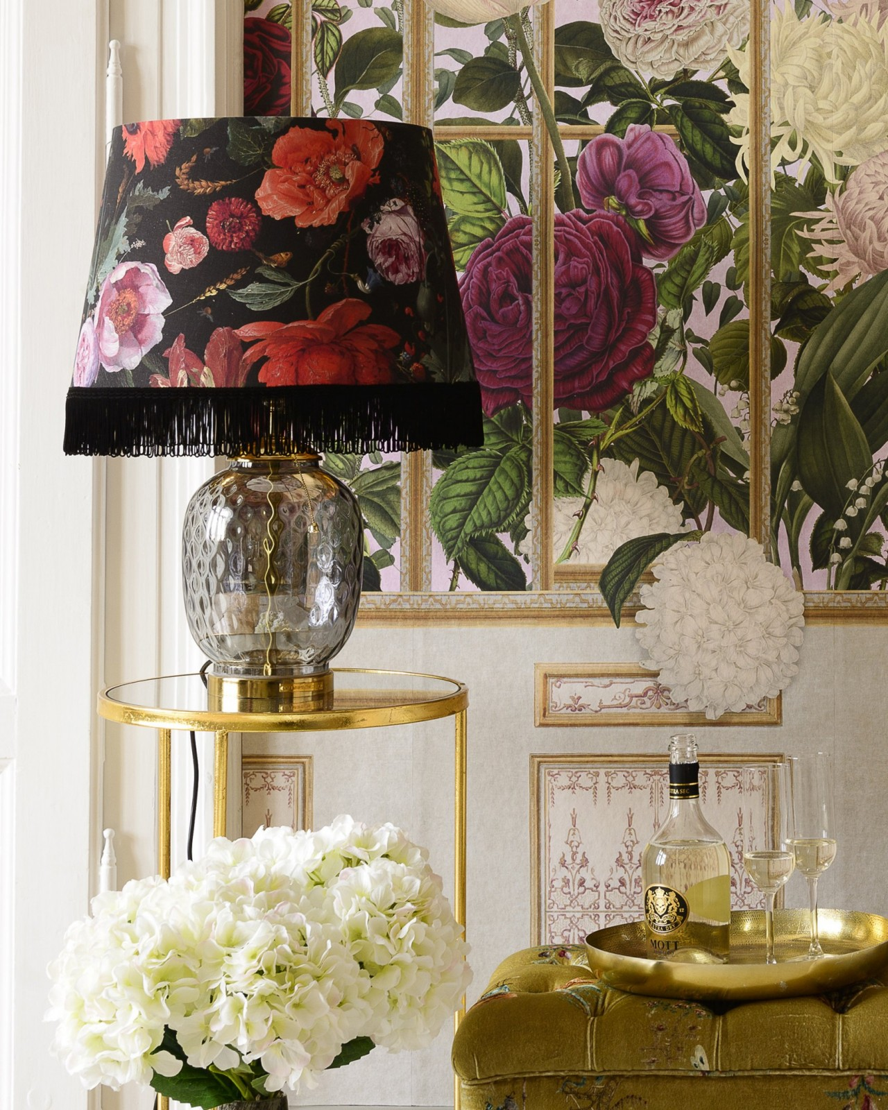 FLOWERS OF THE LADY Pendant Lamp