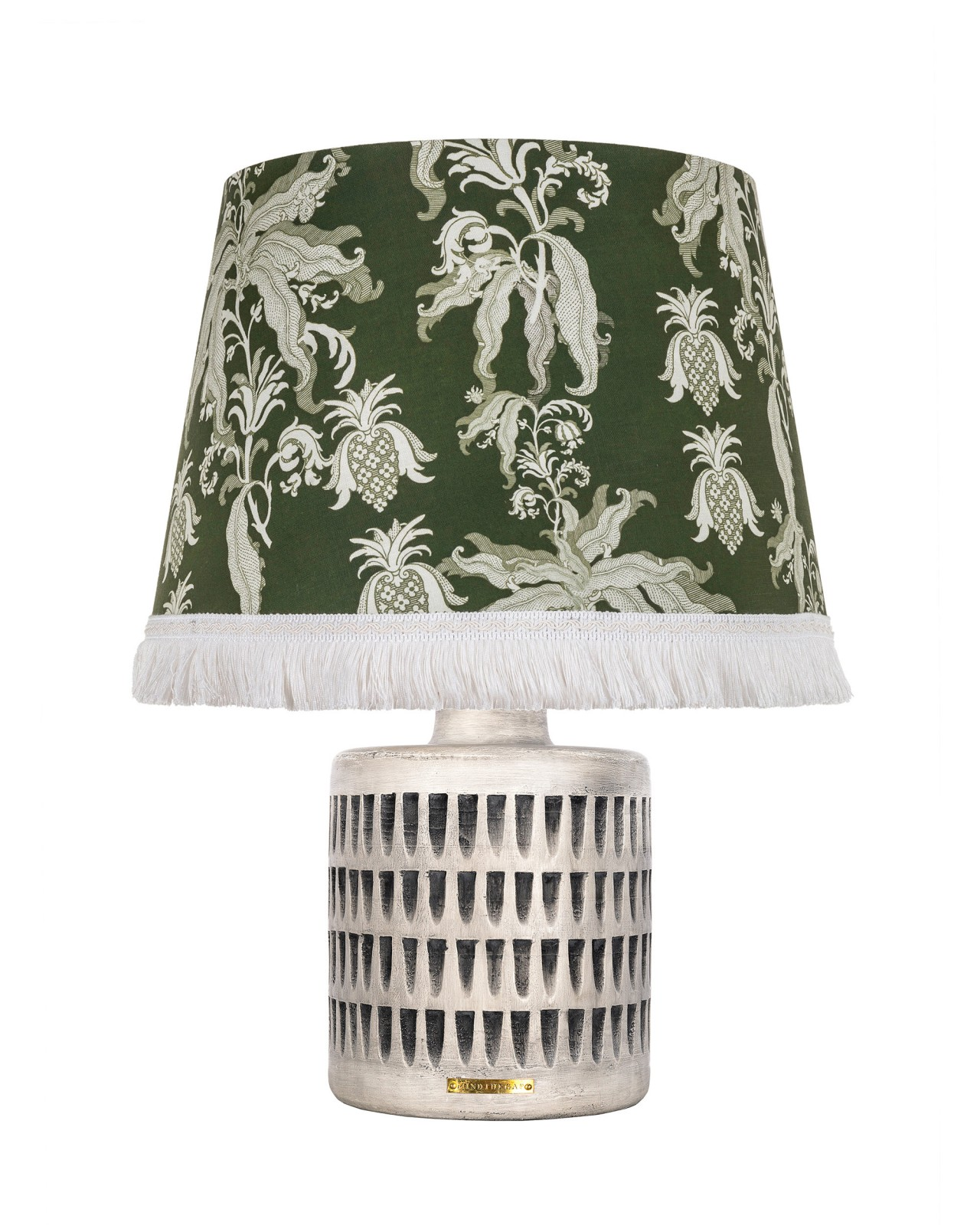 GUINEO Green COLOSSEUM Table Lamp
