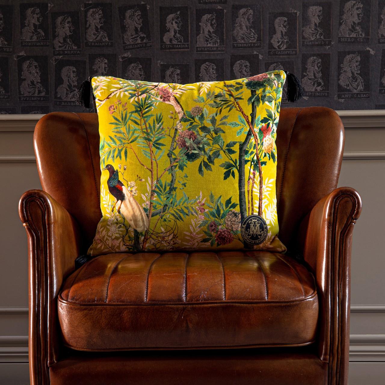 ROYAL GARDEN Velvet Cushion