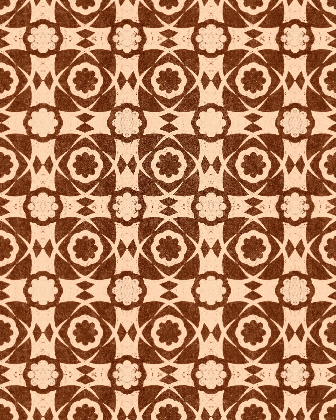 AEGEAN TILES Leather Wallpaper
