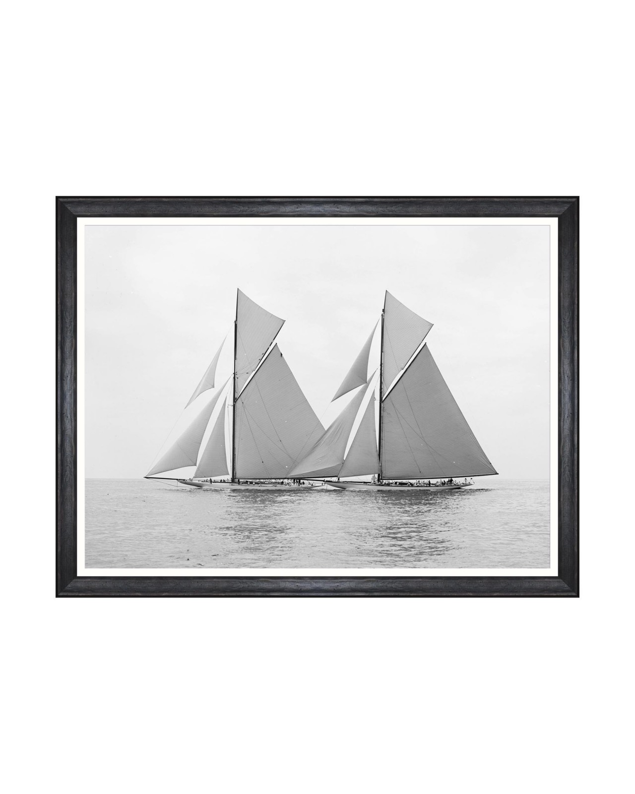 AMERICA'S CUP - RELIANCE AND SHAMROCK 1903 Framed Art