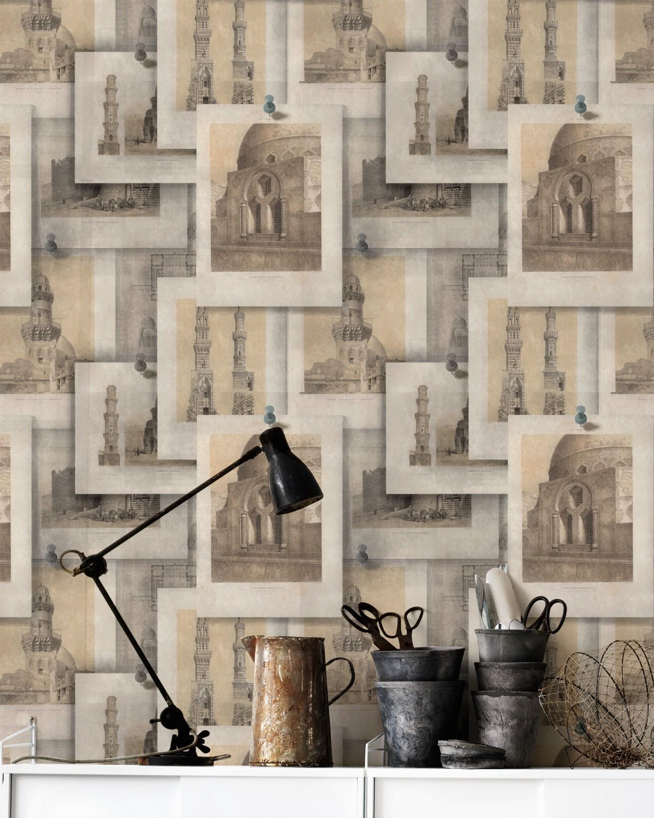ARABIAN MONUMENTS Premium Wallpaper