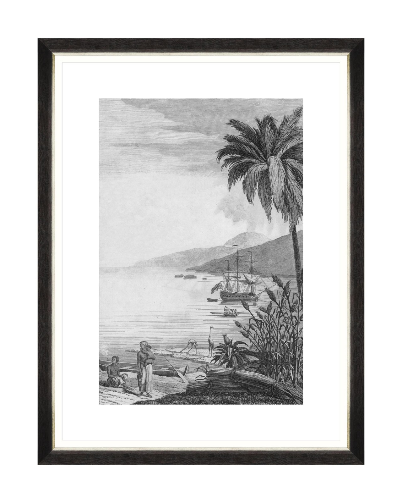 COLONIAL PORT II Framed Art