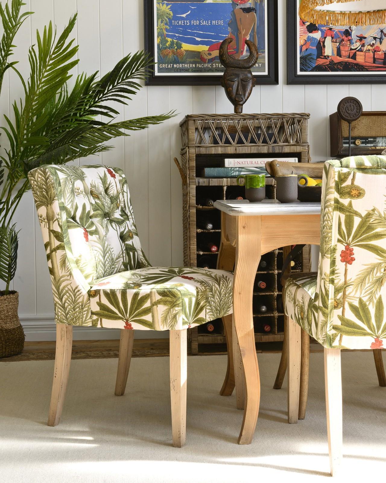 DUKE Tufted Chair - MADAGASCAR Linen