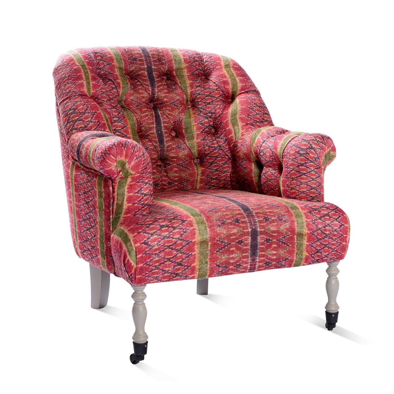 ST GERMAINE Tufted Chair - Lakai Linen