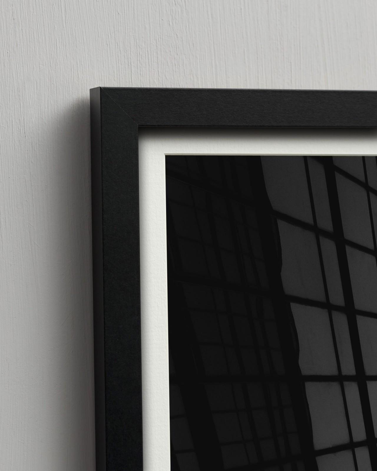 TRIANGLES II Framed Art