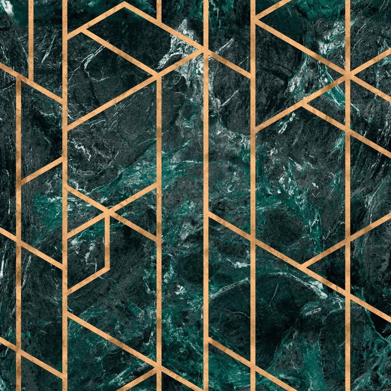 GRAMERCY Emerald Metallic edition Wallpaper