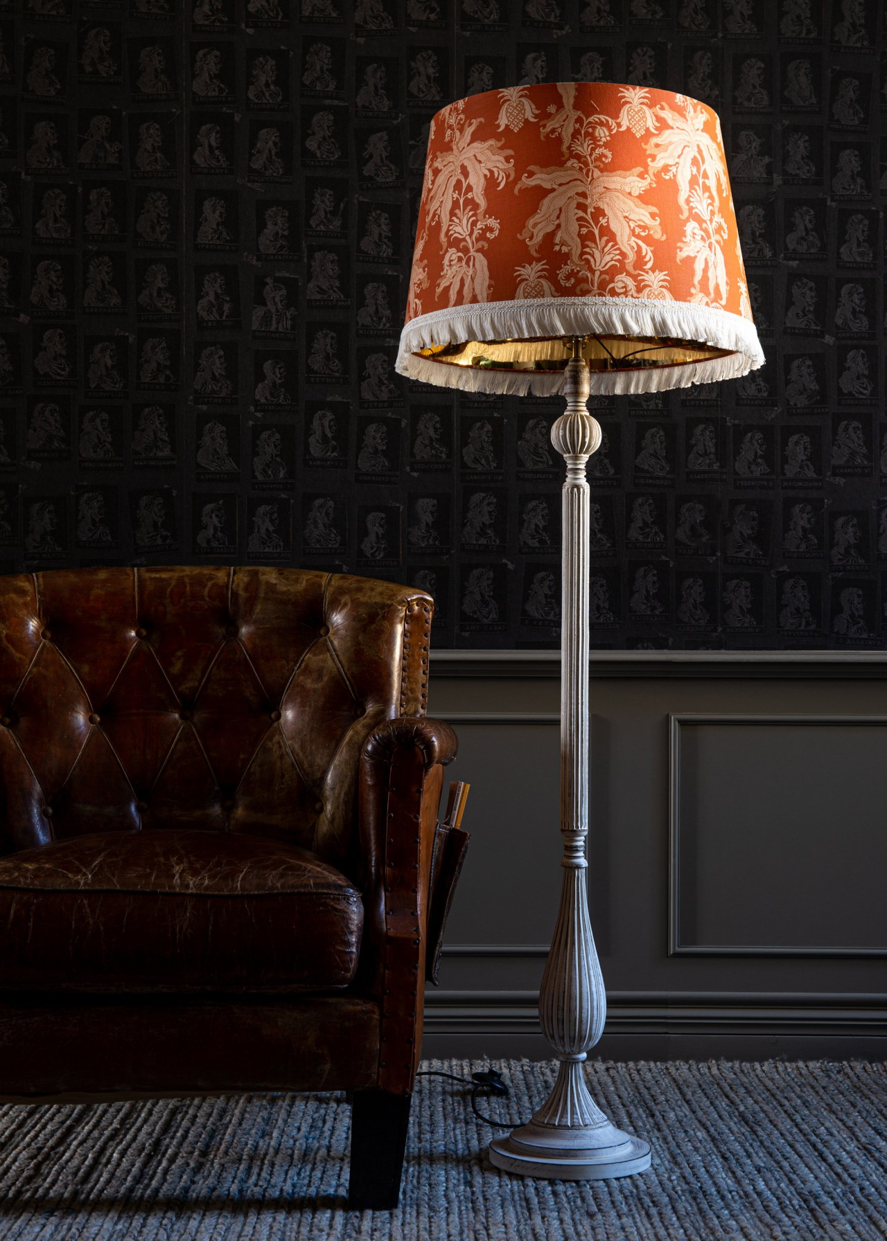 GUINEO Orange Lampshade