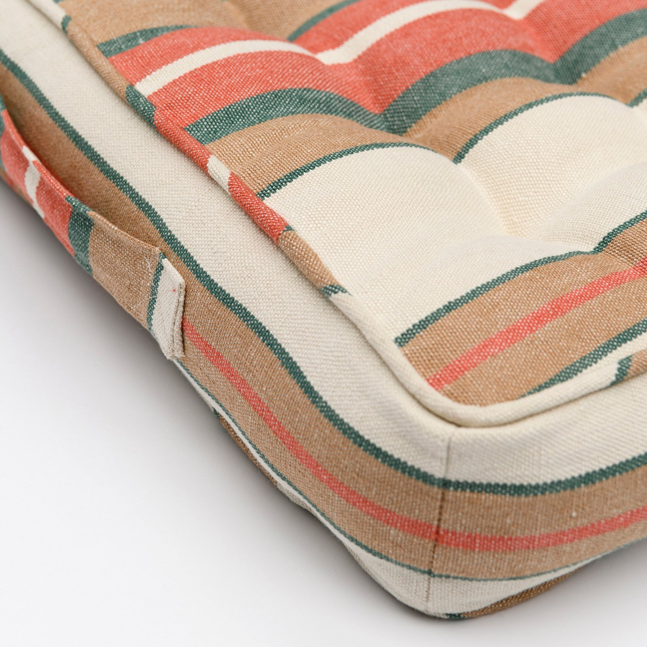 HERINA STRIPE Linen Chair Cushion