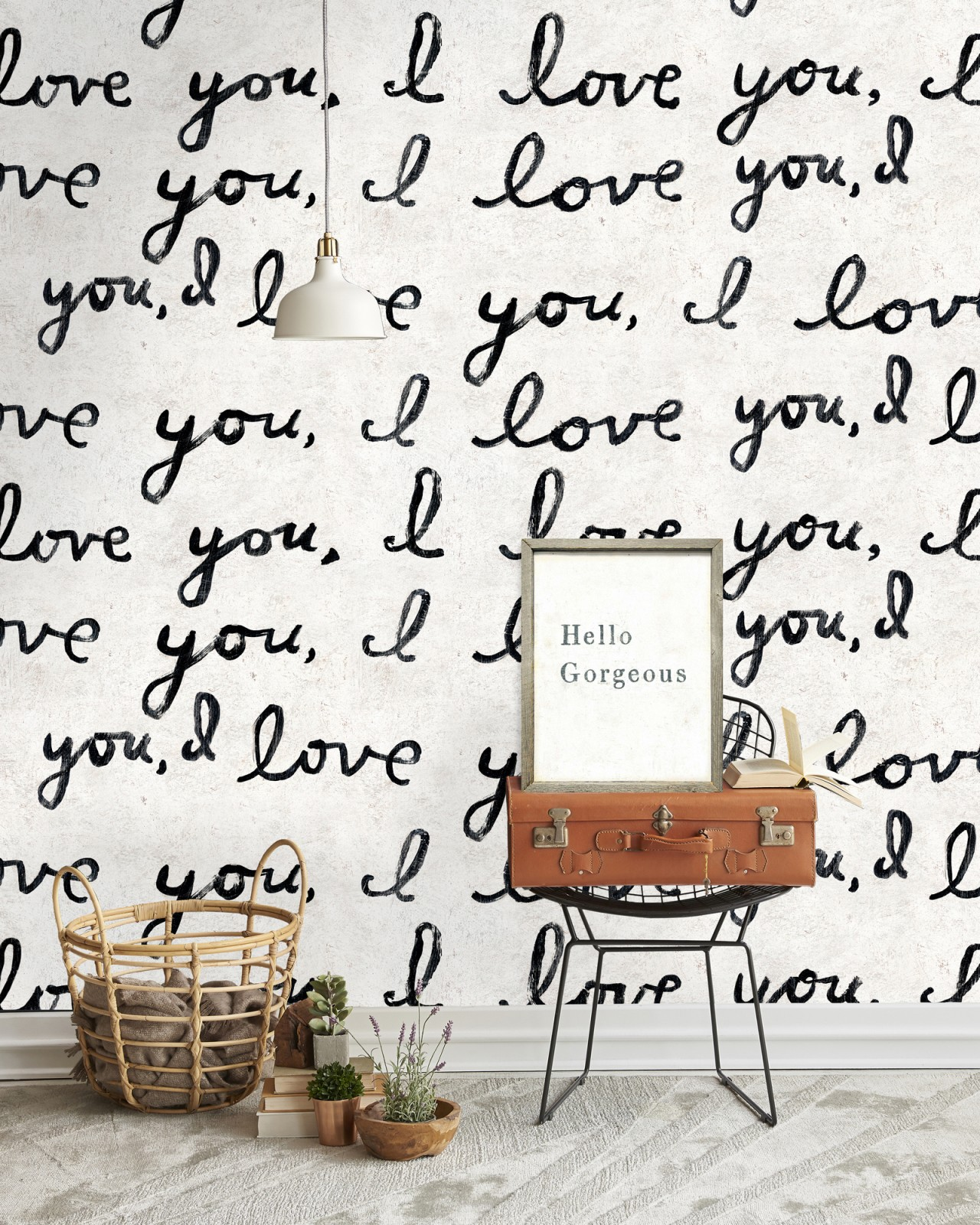 I LOVE YOU, I LOVE YOU Wallpaper