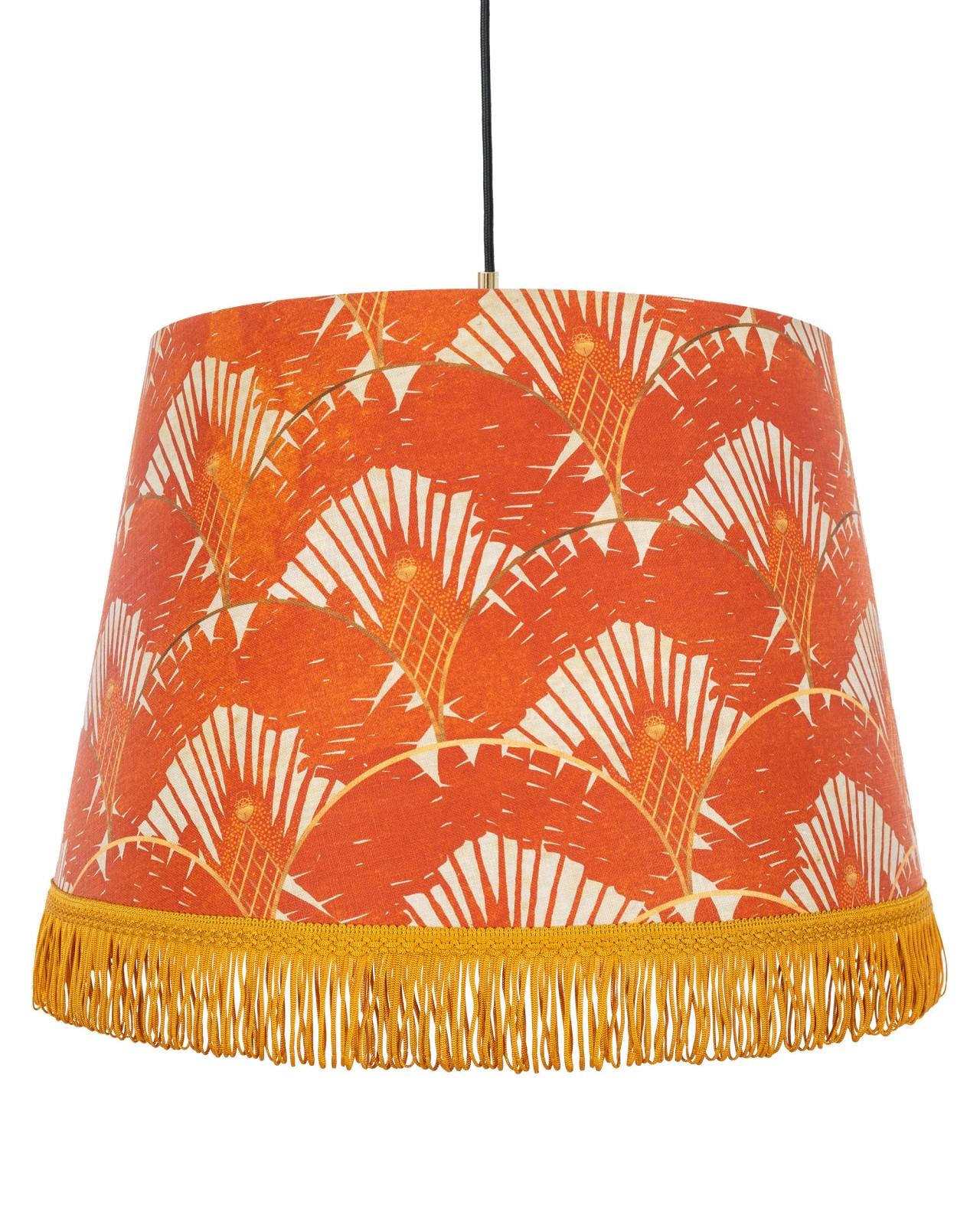 RAVENALA Orange Pendant Lamp