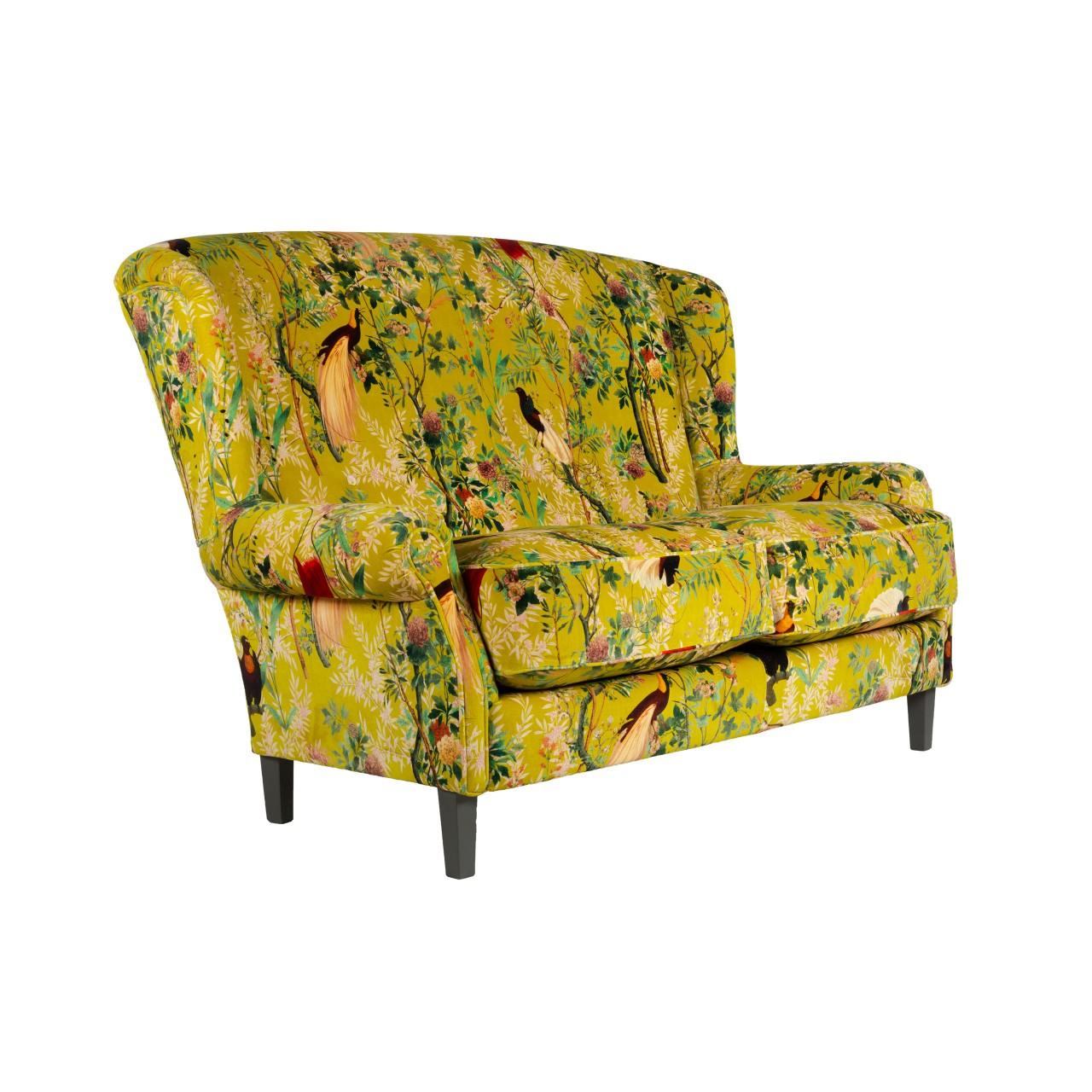 ABIGAIL Sofa - ROYAL GARDEN Green Velvet