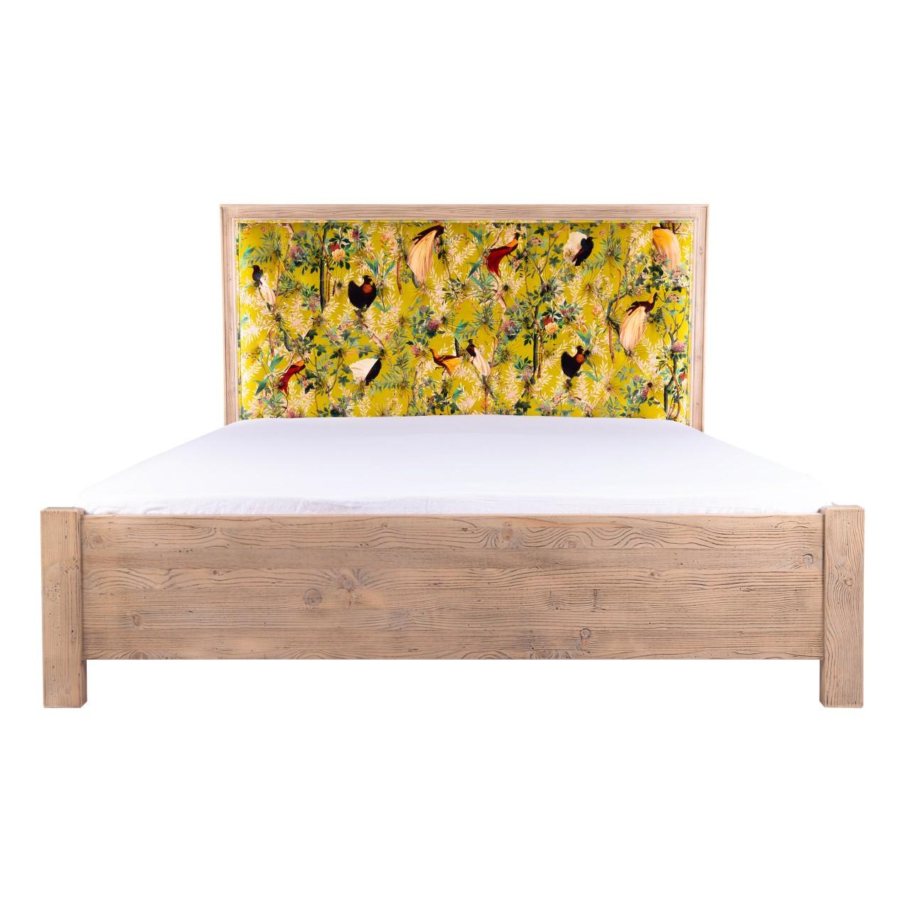 ANTAL Bed - ROYAL GARDEN Green Velvet