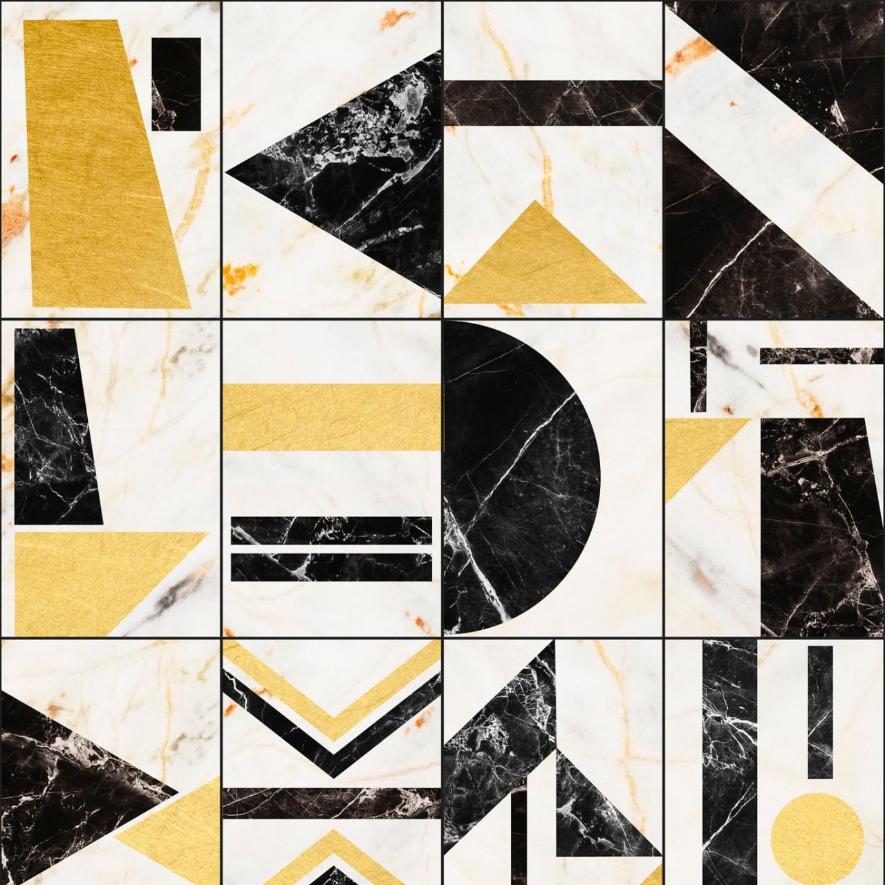 SOHO Brass Wallpaper