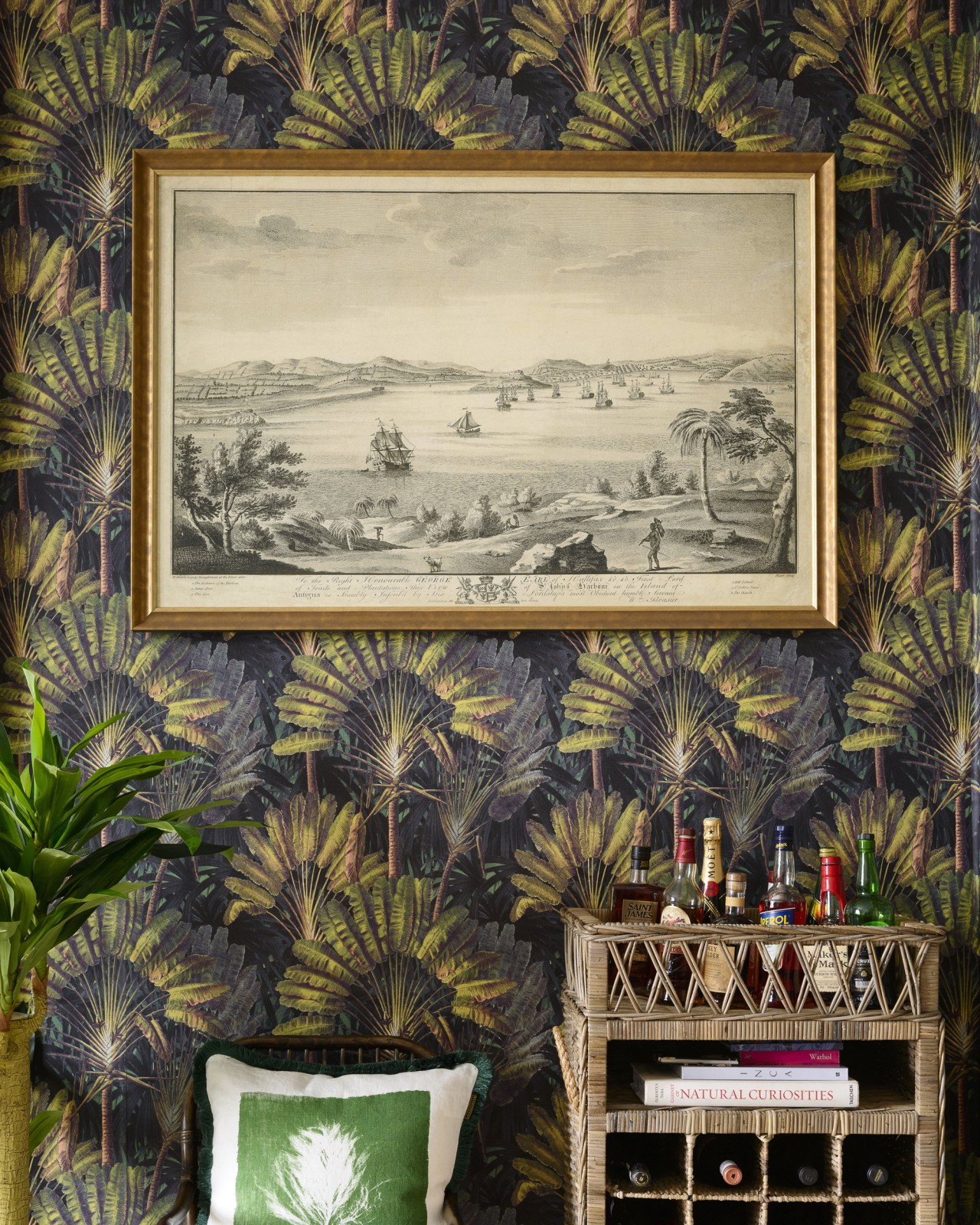HARBOUR OF ANTIGUA Framed Art