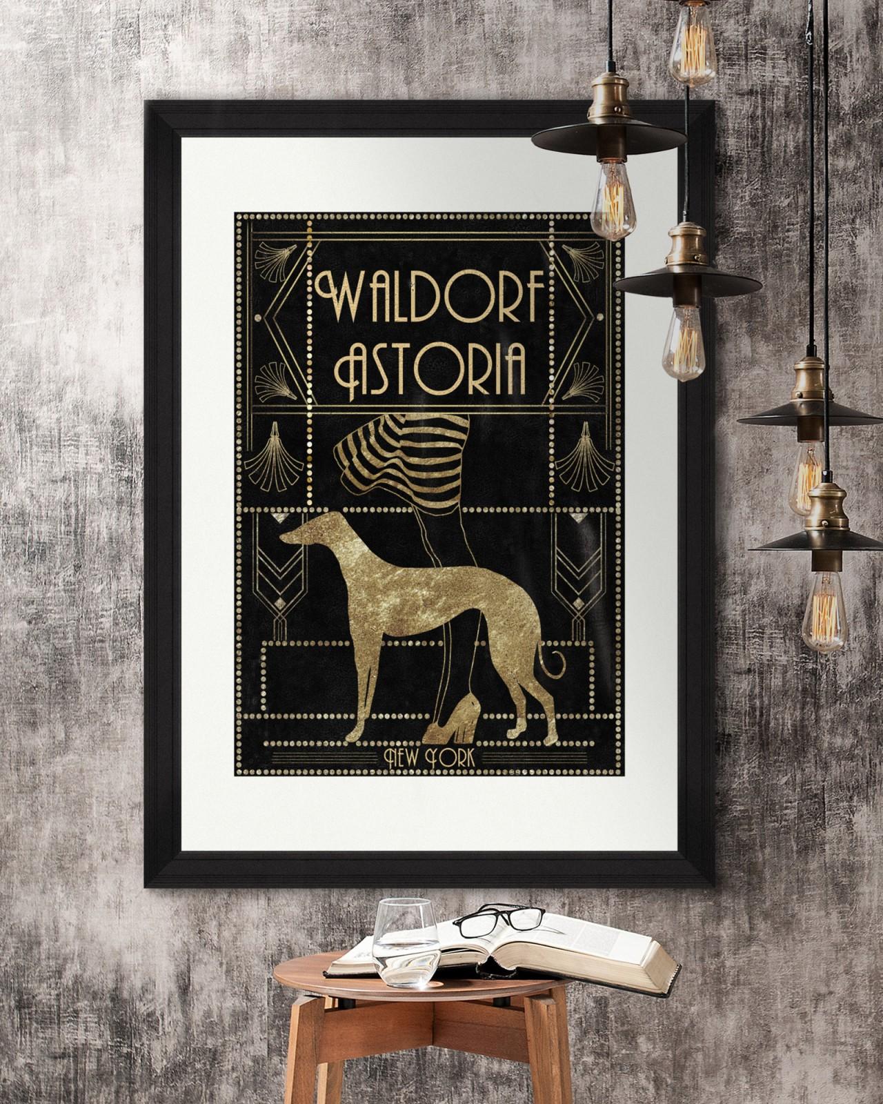 WALDORF ASTORIA Framed Art