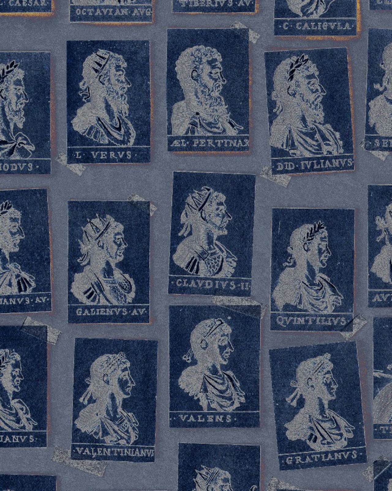 EMPERORS Blue Wallpaper