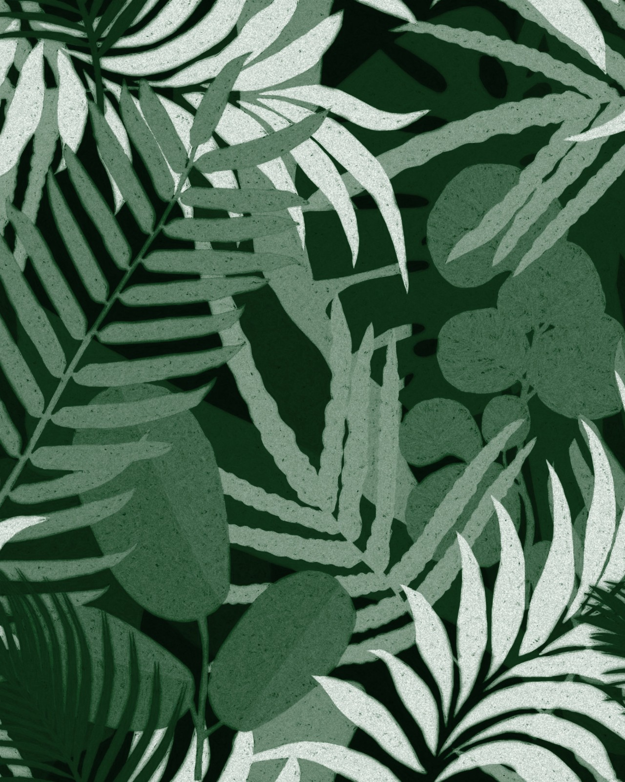 JARDIN DEL SOL Green Wallpaper