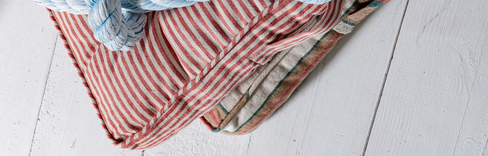 Striped Linens