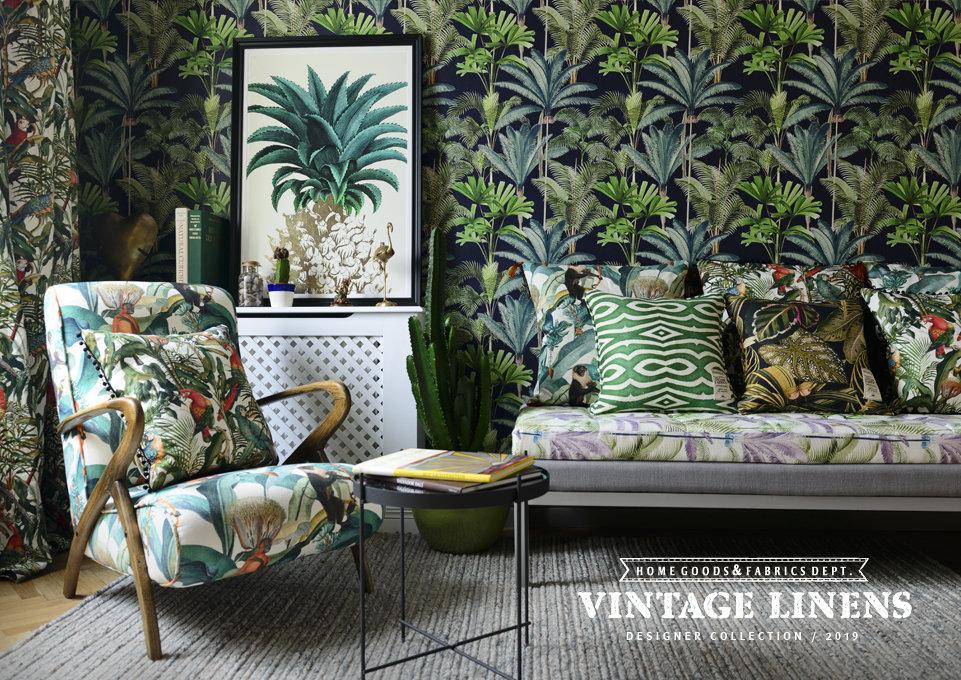 VINTAGE LINENS Designer Collection / 2019